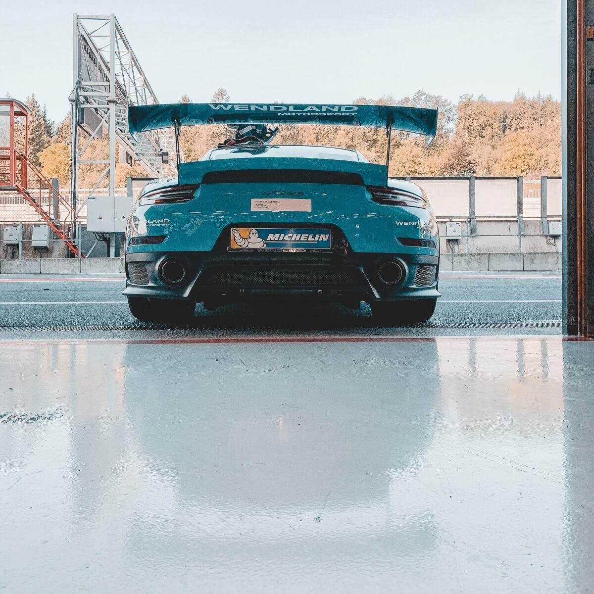 Porsche Motorsport mit Wendland